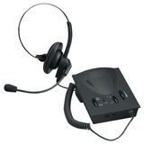 Compucessory Lg. Earpad Amplifier/Headset Kit, Wired Connectivity - Over-the-head - Black, Price/EA