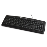 Fellowes 9892901 Keyboard, USB - 104 Keys - Black, Price/EA