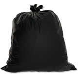 Genuine Joe Heavy Duty Trash Bag, 30 gal - 1.5mil Thickness - 100 / Box - Black, Price/BX
