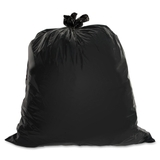 "Genuine Joe Heavy-Duty Trash Bag, 45 gal39"" x 46"" - 1.5mil Thickness - 50 / Box - Black, Price/BX"