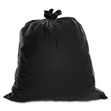 "Genuine Joe Heavy Duty Trash Bag, 60 gal39"" x 56"" - 1.5mil Thickness - 50 / Box - Black, Price/BX"