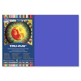 "Tru-Ray Construction Paper, 18"" x 12"" - Blue, Price/PK"
