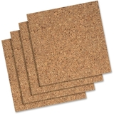 Quartet Cork Tile or Roll Bulletin Board, Cork, Price/PK