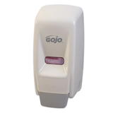Bag-In-Box Liquid Soap Dispenser, 800ml, 5-3/4w x 5-1/2d x 11-1/8h, White, Price/EA